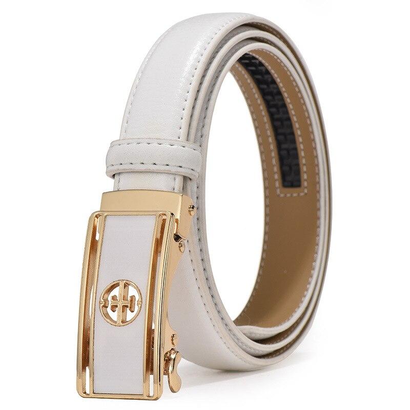 women belt luxury famous designer brand 2019 high quality real genuine leather strap automatic buckle belts pasek damski riem