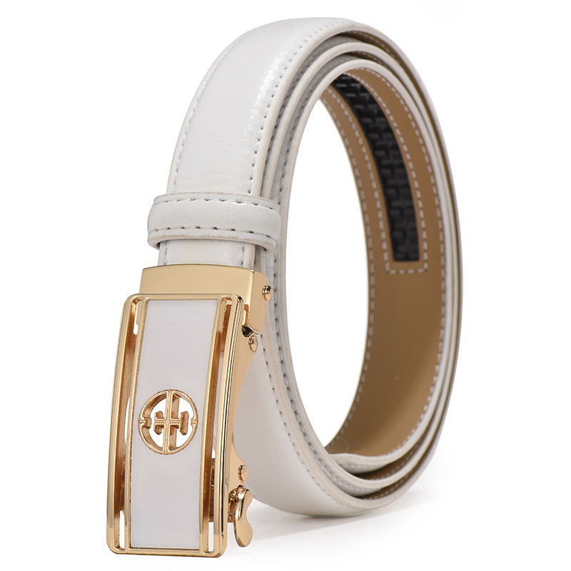 Women Belt Luxury Famous Designer Brand 2020 High Quality Real Genuine Leather Strap Automatic Buckle Belts Pasek Damski Riem