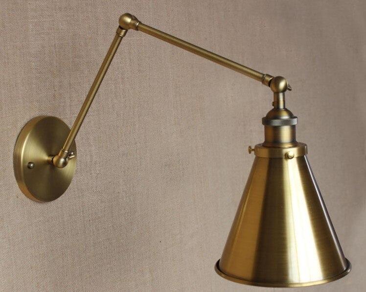 Lampade a braccio da parete vintage: lampade a braccio da parete