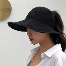 b67d21e8 Fashion Seaside Sun Visor Hat Female Summer Sun Hats For Women large  Brimmed Straw Sun Hat