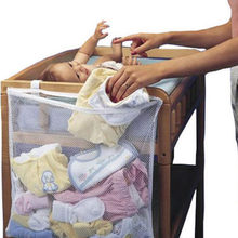 Baby Dirty Clothes Multipurpose Crib Organizer Bed Hanging Household Large Crib circumference Hanging Storage Dirty Clothes(China)