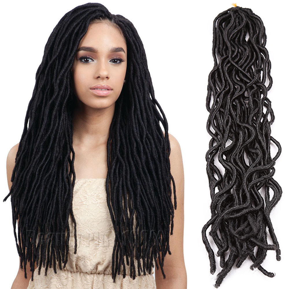 2016 Hot 22 39 Soft Dread Locks Extensions Fast Hair Havana Mambo Faux