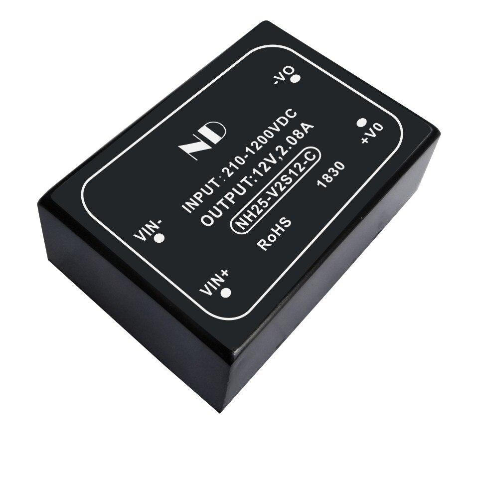 1 Stks Nieuwe High Voltage Input Dc Dc Converter 800 V 1000 V Naar 12 V 2a PV Dcdc Stap Down Buck Converters Kwaliteit Goederen