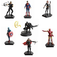 Marvel The Avengers Captain America Spiderman IronMan Superman Batman PVC Action Figures Superhero Collection Model Kids