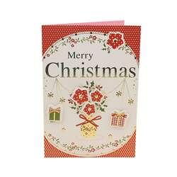 Рисованной праздничный подарок мини Рождественская открытка дети подарок Почтовые открытки