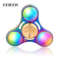 EEIEER Fidget Spinner Metal Rotation High Speed Hand Spinners Brass Comes Spiner Anti Relieve Stress Toys