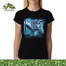 Owl Moon Night Womens mens T-shirt s-3XLNew T Shirts Funny Tops Tee New Unisex Funny High Quality Casual Printing 100% Cotton цена