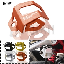 For KTM 1290 SUPER ADV Accessories Motorcycle Rear Brake Fluid Reservoir Guard Cover Protect  For 1290 Super Adventure R/S/T ADV motorcycle for ktm 1290 super adv ktm 1290 super adventure r handlebar ends motorcycle accessories aluminum handlebar grips
