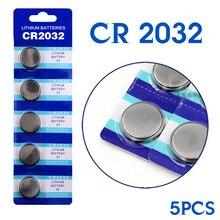 3.28 Big Discount 5Pieces 3V Lithium Coin Cells Button Battery 5004LC ECR2032 CR2032 DL2032 KCR2032 High Energy Density