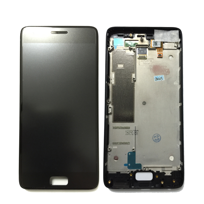 Original For Lenovo ZUK Z2 LCD Display With Touch Screen Digitizer Assembly With frame Black White Color Free Shipping for lenovo vibe x2 pro x2pt5 display lcd screen with touch screen digitizer with frame assembly black color free shipping