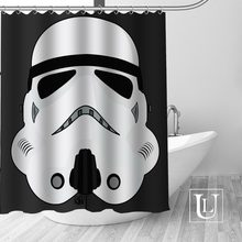 Best Nice Custom Star Wars Shower Curtain Personalized Pattern Bath Waterproof Fabric For Bathroom More