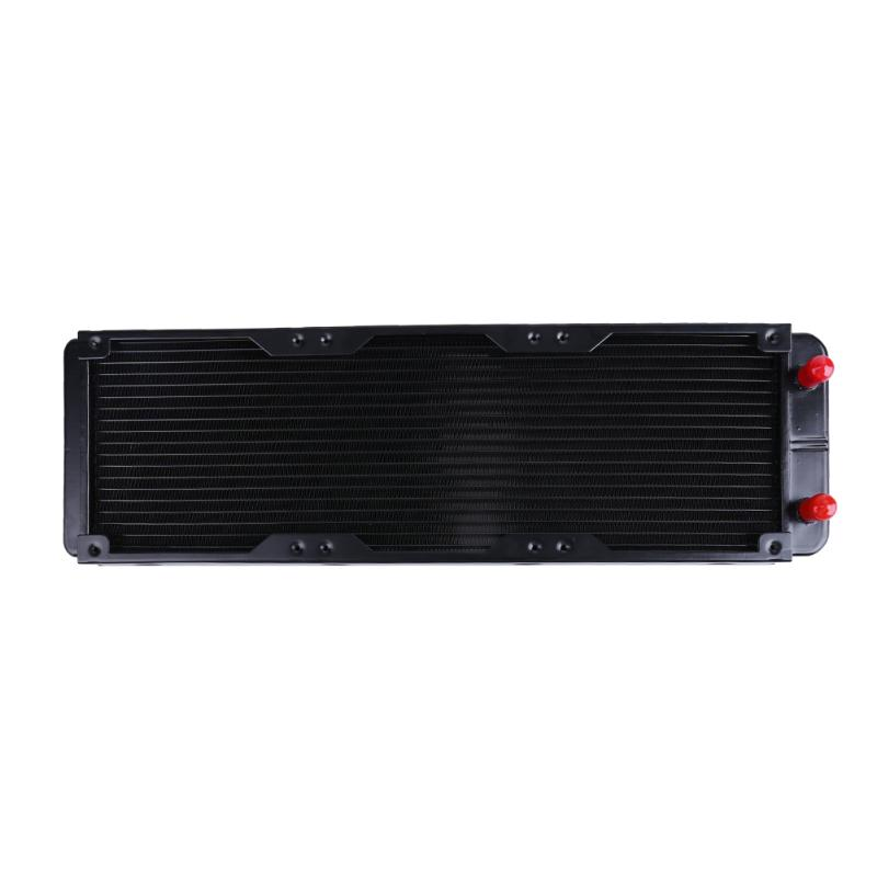 360mm Aluminum PC Water Cooling Radiator 18 Channels For Computer LED computer Water Cooling Radiator CPU Heat Sink 240mm water cooling radiator g1 4 18 tubes aluminum computer water cooling heat sink for cpu led heatsink heat exchanger