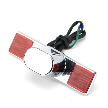 License Plate Light For HONDA CA 125/250 Rebel CMX 250 CMX250 CA125 CA250 Motorcycle Accessories Licence Plate Lamp universal motorcycle license plate bracket holder with led light for honda rebel ca250 cmx250c cmx250 xl600lmf xadv 750