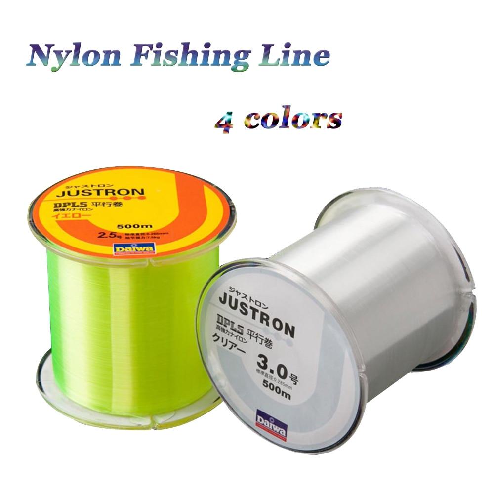 Nylon Daiwa font b Fishing b font font b Line b font 500m Z60 Daiwa Series