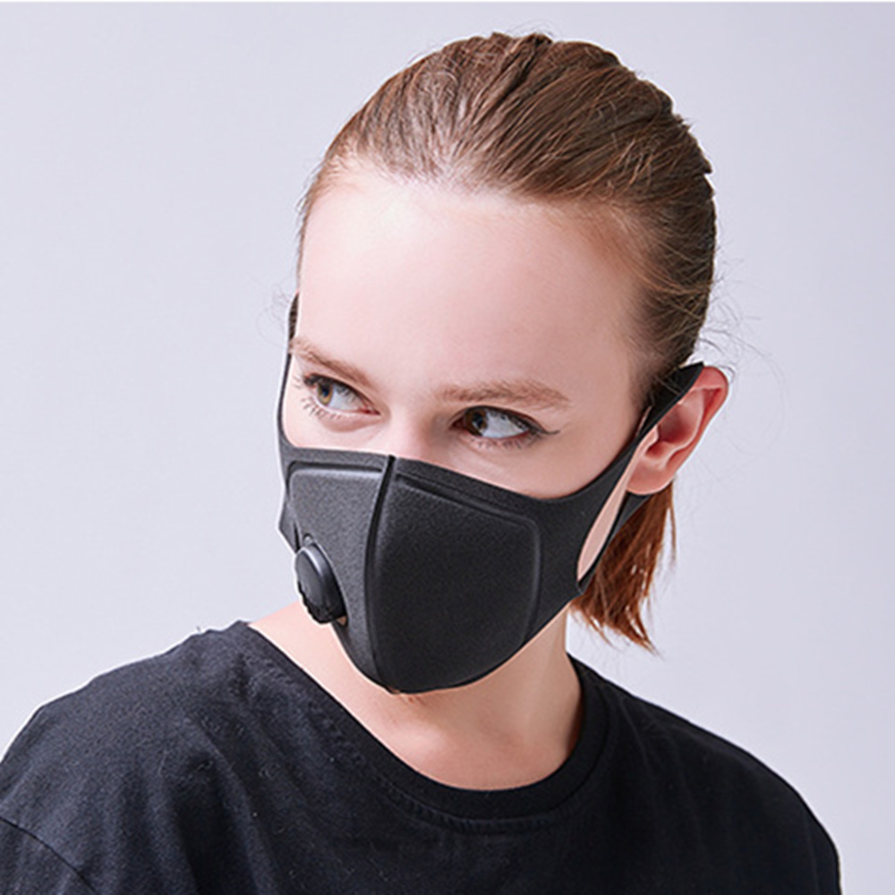 Hot Sale Cotton Dust Mask Individuality Pattern Eagle Luminous Effect Anti-dust Fog Pm2.5 Black Men And Women Protective Mask Security & Protection
