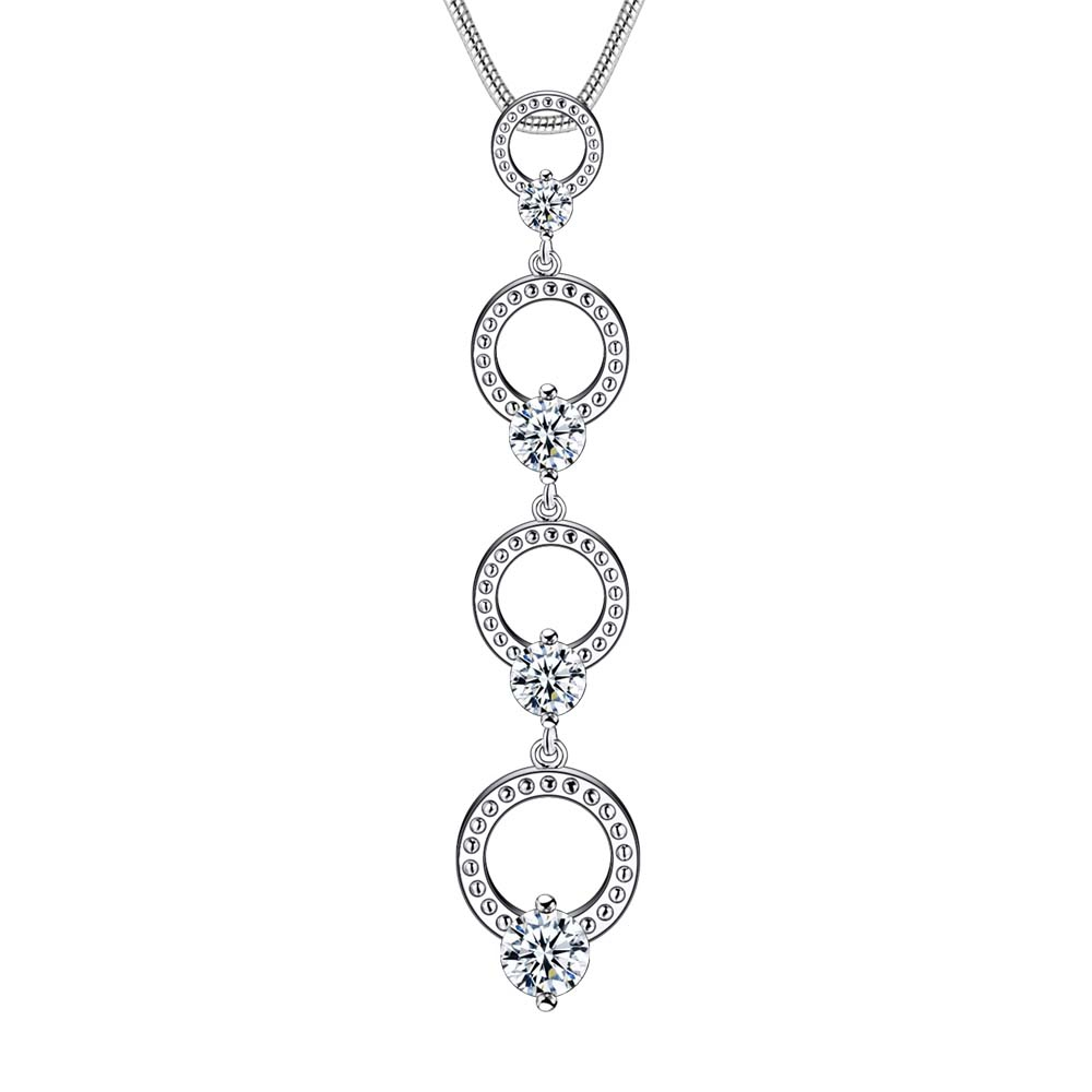 Wholesale silver plated charm jewelrys Necklace,free ...