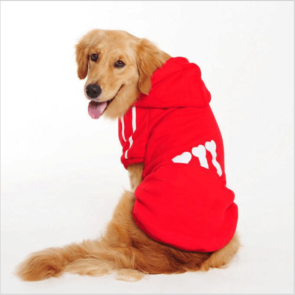 Hot Sale M-2XL Pet Dog Clothes for Dogs Winter Warm Hoodies Coat Jacket Clothing for Dog Small Dogs clothes
