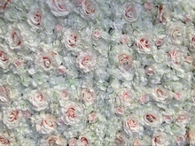 3M x 6M Luxury Flower backdrop Wedding Flower Wall Artifical Rose Stage Decoration