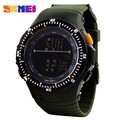 SKMEI 0989 WATCH Luxury Men Digital Wristwatch Elegant Silicone Sport Clock Fashion Automatic Military Army Watch Top Quality