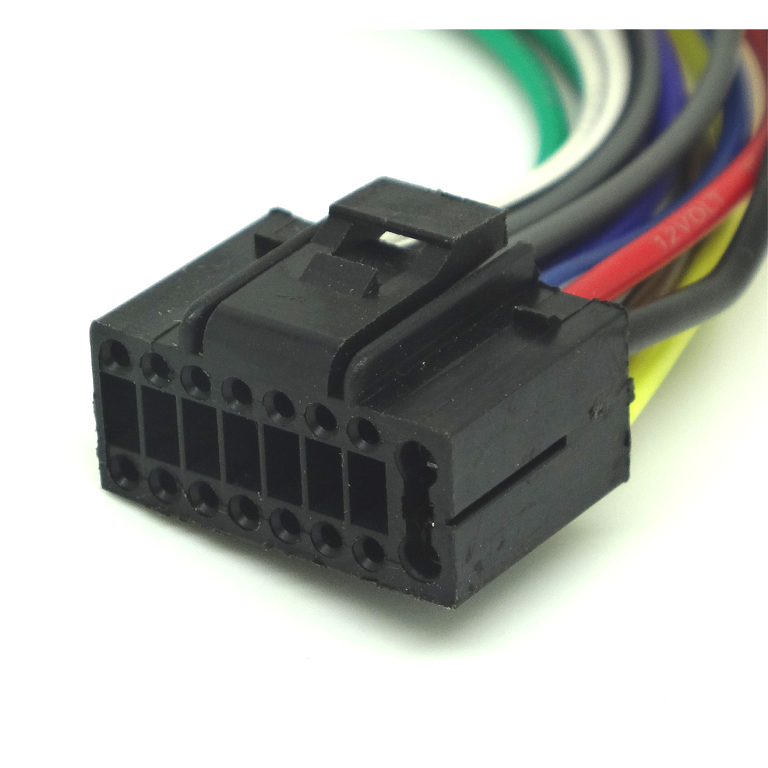 player 16 pin radio car audio stereo wire harness for kenwood kdc Kenwood Sub Amp Wiring Harness Colors at Kenwood Kdc Mp225 Wiring Harness