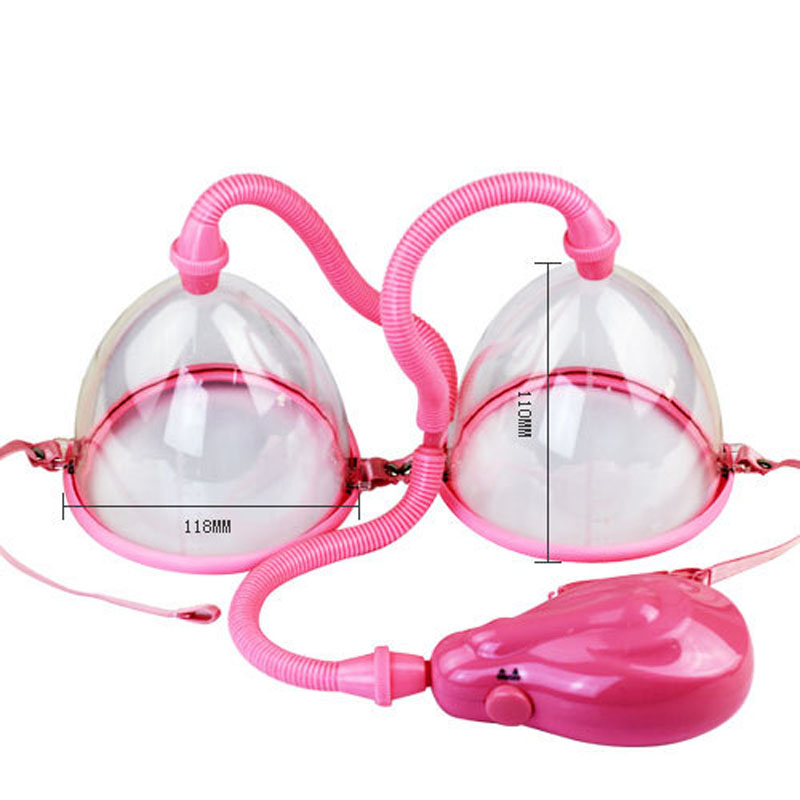 Electrical Breast Pump Enlargement Massager Enhancer Electric Manual Former Cup Vacuum Suction Body Exerciser Sex Toys for Women