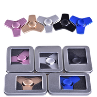 5 Colors Tri Spinner Fidget EDC Hand Fidget Spinner Toy For Autism And ADHD Anti Stress