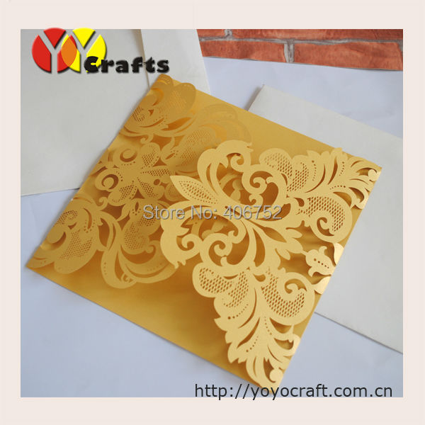 Luxury Paper Material And Card Product Type Unique Wedding