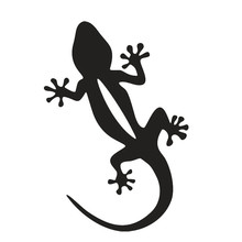 YONGXUN 12CM Quattro Personality Gecko Animal Motorcycle Car Sticker Decal Sticker Fashion Four-Wheel Drive System CT-695