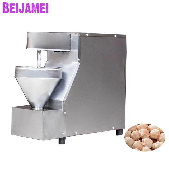 BEIJAMEI wholesale products stainless steel automatic fish ball /chicken ball meatball making maker machine price
