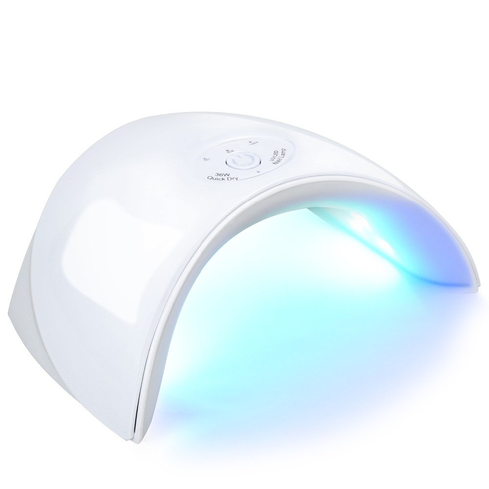 Nail Dryers 36w Uv Led Light Nail Dryer 60s 90s 120s Uv Lamp Nail Drying Machine For Curing Uv Gel Led Gel Polish Manicure Nail Art Lamp