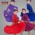 2016 Nuevo Vestido de Baile Latino Tango Vestido de La Competencia