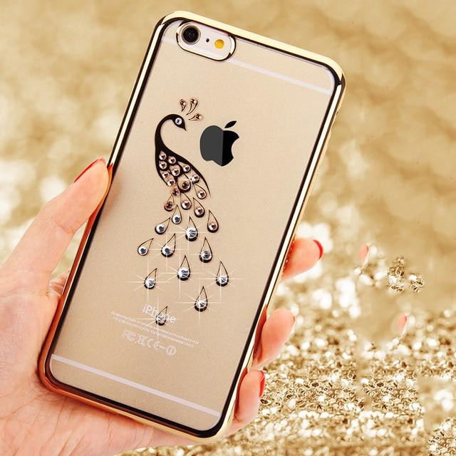 Case iPhone ozdobione diamencikami różne modele 5/5S 6/6S 6/6S plus 7/7plus
