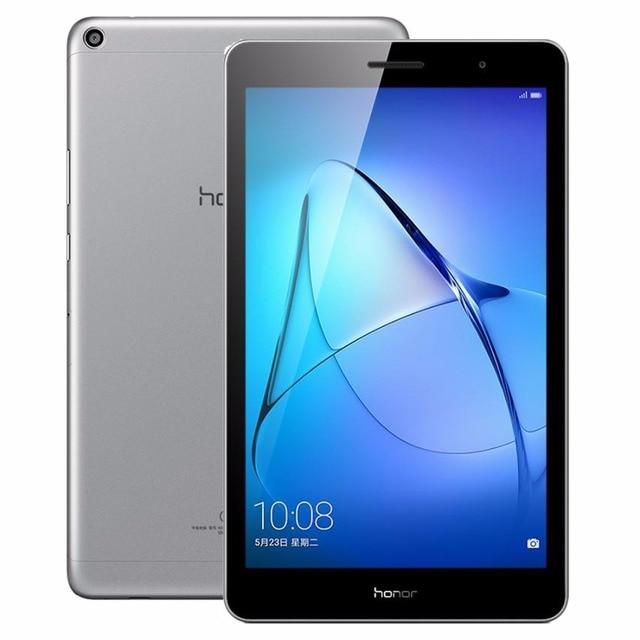 Оригинальный 8 дюймов Huawei MediaPad T3 KOB-W09 Планшеты PC 2 ГБ 16 ГБ EMUI 5.1 OS Snapdragon 425 4 ядра 4x1.4 ГГц 1280x800 Планшеты