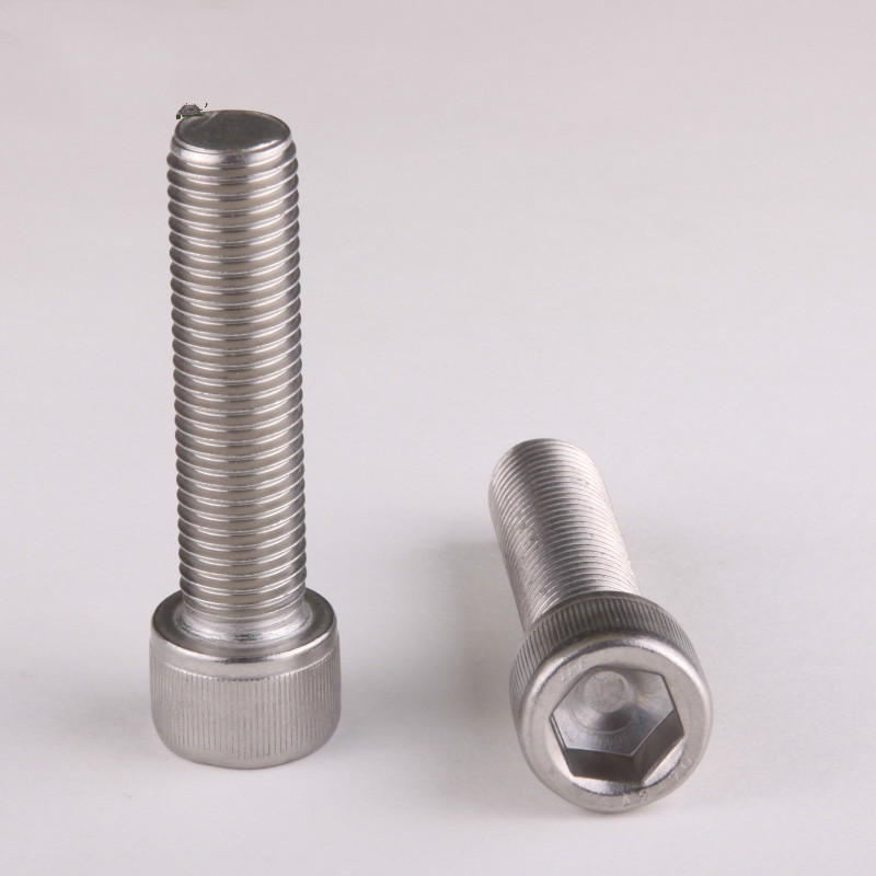 10PCS 304 Stainless Allen Bolt Socket Cap Screw Hex Head Allen Key DIN912 M6*8/10/12/14/16/20....100
