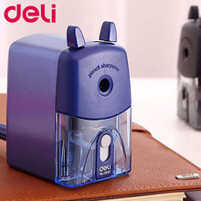 Deli Stationery Pencil sharpener office & school supplies mechanical pencil sharpener office accessories manual pencil sharpener цена в Москве и Питере