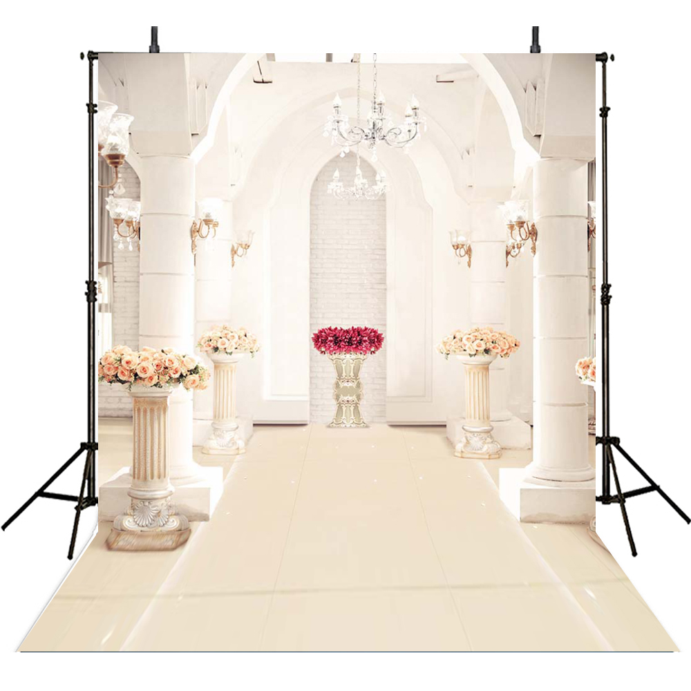 White Palce Photography Background Backdrops for Wedding Digital Printed 10x10ft Photo Background for Photo Studio Customized 200 300cm wedding background photography custom vinyl backdrops for studio digital printed wedding photo props