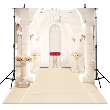 Białe tło fotografia tła na ślub cyfrowe drukowane 10x10ft zdjęcie tło dla Photo Studio dostosowane