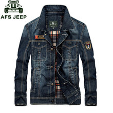 Men's Clothing M~4XL New Fashion Retro Denim Jackets Mens Jeans Coats Spring Plus Size Casual Jackets Brand CLOTHES Denim Coat