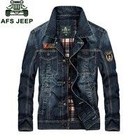 M 4XL New Fashion Retro Denim Jackets Mens Jeans Coats Spring Plus Size Casual Jackets Brand