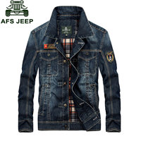 M 4XL New Fashion Retro Denim Jackets Mens Jeans Coats Spring Plus Size Casual Jackets Brand