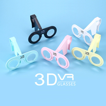 Colorful multicolor 3D VR glasses virtual reality glasses for smartphone with phone holder explorea whole new 3D world
