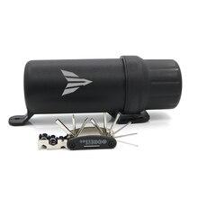 Universal Off Road Waterdichte Buis Handschoenen Opbergdoos Voor Yamaha MT01 MT03 MT10 MT09 MT125 MT 01 MT 03 MT 09 MT 125 met 1 Tool