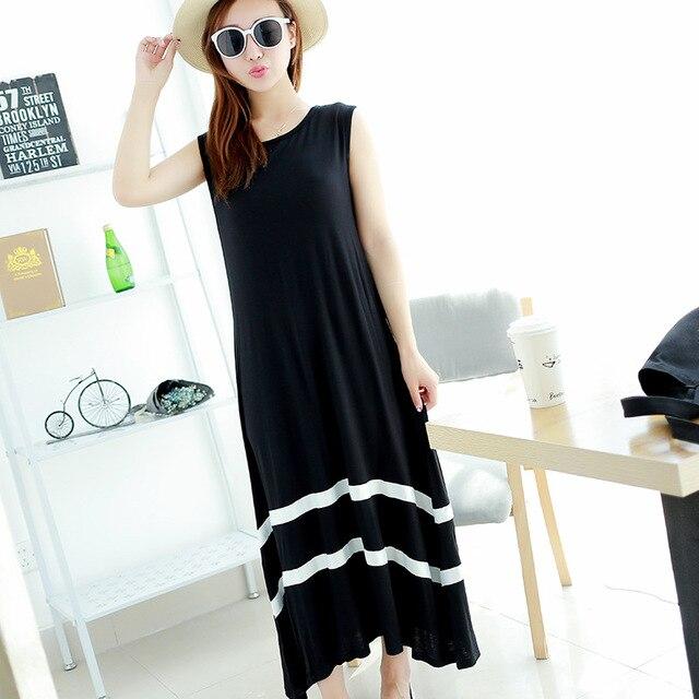 קיץ סגנון בתוספת גודל כותונת חגורה תפרים מודאלי גדול נדנדה שרוולים אפוד שמלת פיג 'מה נוחה