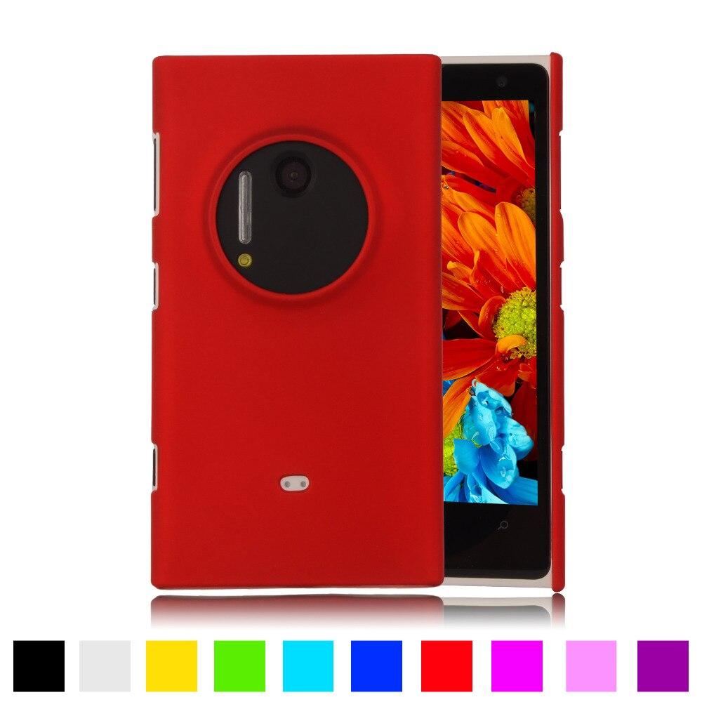 Para Nokia Lumia 1020 de moda mate recubierto de goma cubierta de plástico duro
