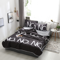 Summer Thin section bedding set Bedspread Blanket Bed Cover Quilting Home Textile Summer suit bed set new 3pcs