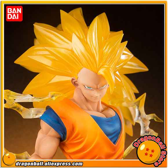 Japan Anime Dragon Ball SUPER Original BANDAI Tamashii Nations Figuarts Zero Toys Figures - Son Gokou Super Saiyan 3 genuine bandai exclusive tamashii nation 10th anniversary s h figuarts dragon ball z son gokou goku kaiohken ver action figure