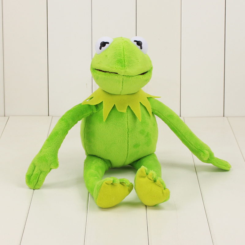 41cm Sesame Street Kermit Plush Toys Frogs Doll Stuffed Animal  Toy Drop Shipping Holiday Christmas Gifts For Kids