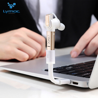 LYMOC Multi Function Bluetooth Earphones Twins Wireless Headset V4 1 Unilateral Bilateral Use Magnetic Charge For
