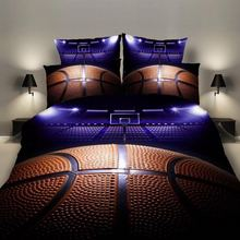 Bedding Sets 2/3pcs 3D Duvet Cover Bed Sheet Pillow Cases Size EU/CN/US Queen King Basketball Drop Shipping