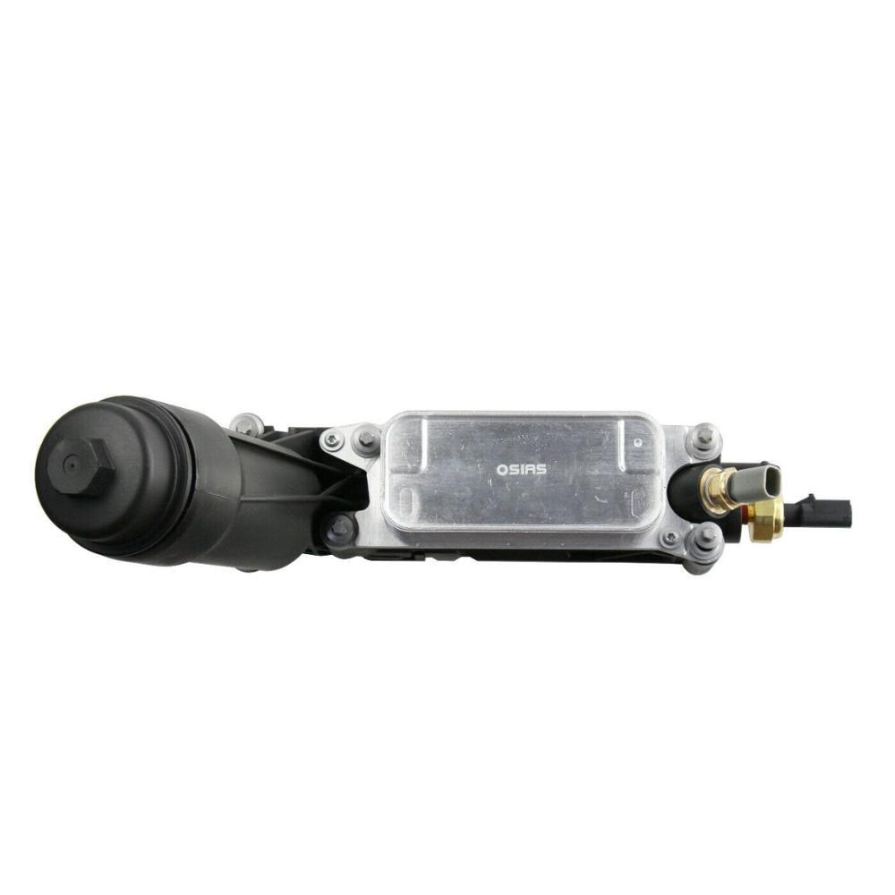Nouveau pour 2011-2013 Jeep Dodge Chrysler 3.6L V6 moteur refroidisseur d'huile filtre logement 5184294AE W/2 capteurs OSIAS